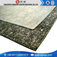 compressed non asbestos gasket sheet with nbr binded