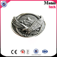 wholesale fashion high quality custom metal 3D eagle embossed types of belt buckles