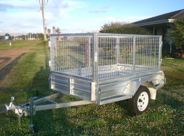 Low Bed Trailer 20Ton Container Trailer 20ft For Tractor