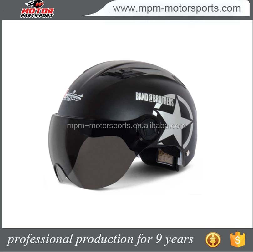 High strength ABS Material Openface Helmet For Motorcycle