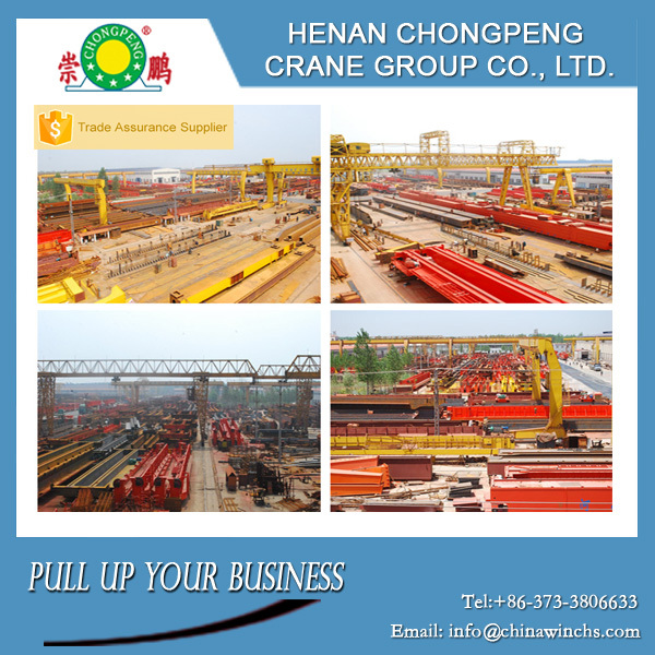Good service cabin operated gantry crane price container