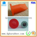 Waterproof silicone valve for solenoid