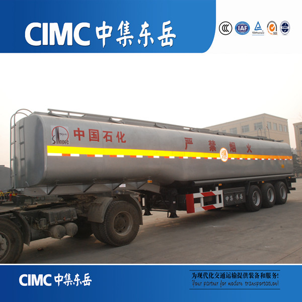 3 Axles Fuel Tank Trailer/Water Tank Semi Trailer/Military Tank Trailer For Sale