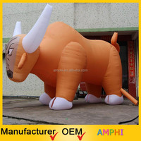 2015 New style inflatable bull, inflatable bull model