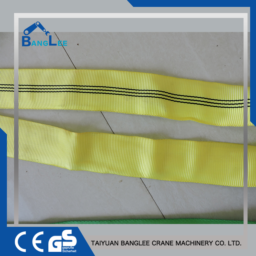 Factory Directly Wholesale High Quality Soft Polyester Flat Boat Lifting Slings