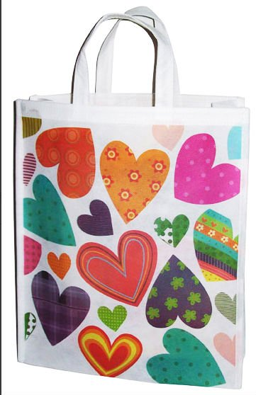 Full color offset printed Non Woven bags