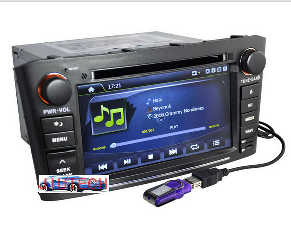 Car Stereo for Toyota Avensis Auto Radio GPS Navigation DVD Player Multimedia with 3G wifi