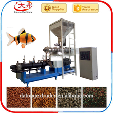 Factory supplier sinking fish food production equipment