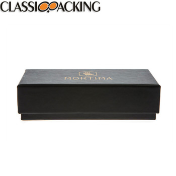 New product black paper packaging box gift paper box