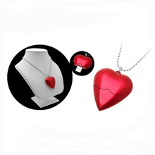 Very nice promotional jewelry gift heart shape 4gb 8gb 16gb memory stick usb flash drive