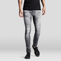 fashion grey tight skinny long men denim jeans made in china