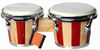 Percussion instrument tunable bongos,wooden bongo drum