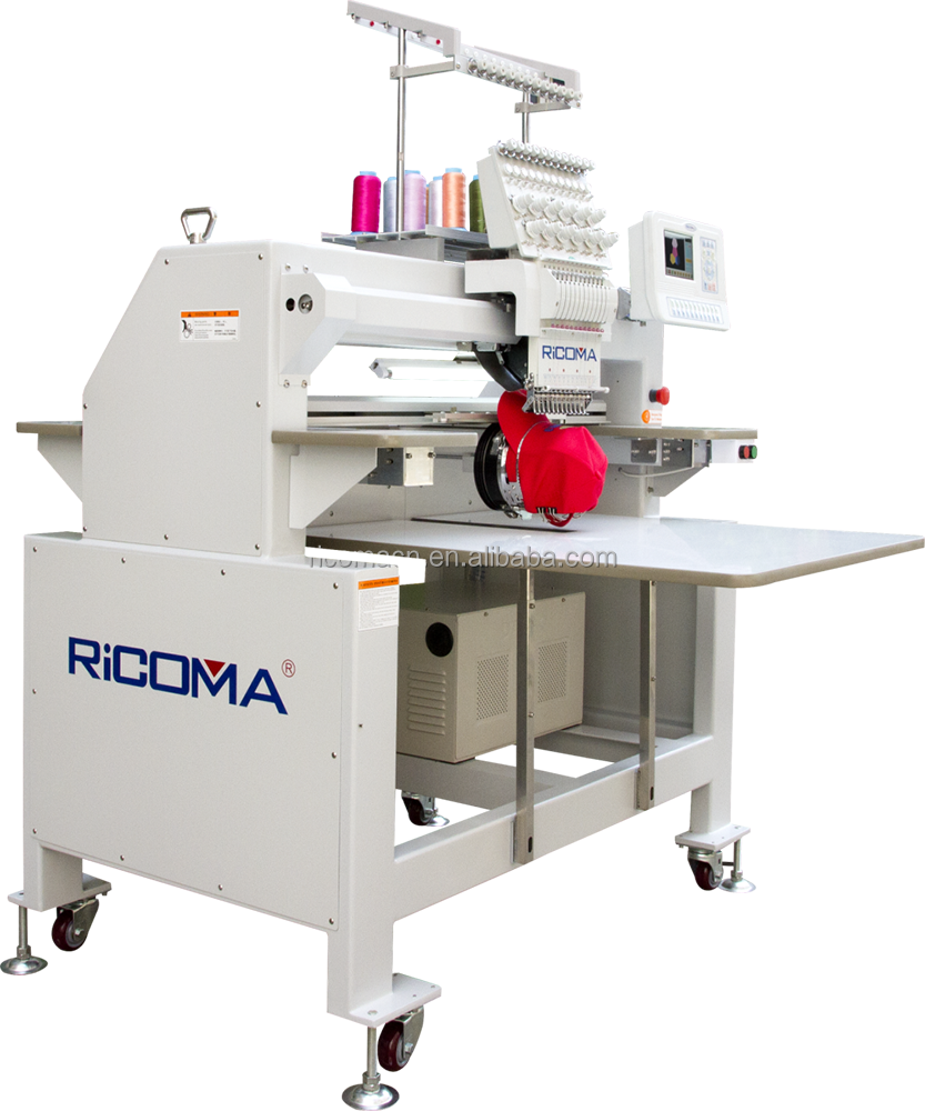 Shenzhen RiCOMA computer embroidery machine with affordable price