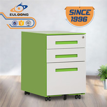 Top 10 office furniture manufacturers 3 drawers 5 wheels mobile pedestal