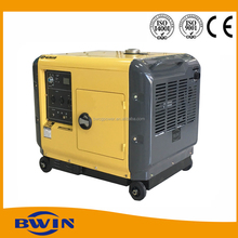 5kw electric genset diesel portable generating