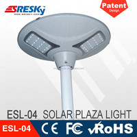 9W Ce Pure White Stand Alone Solar Street Light For Garden