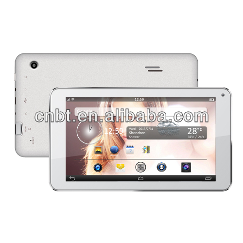 7 inch High quality dual core for super narrow bezel tablet pc