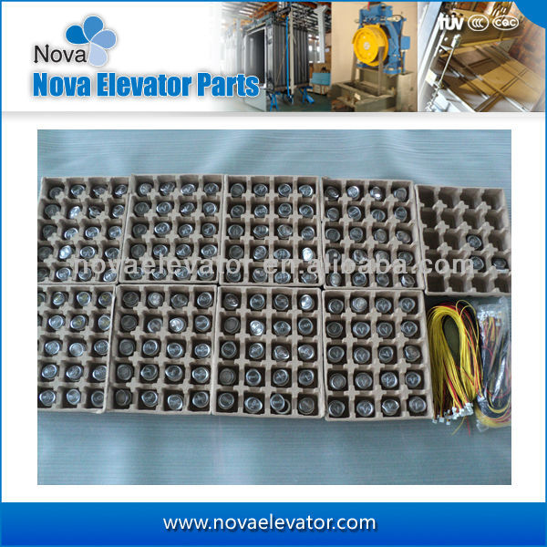 2017 Customized Manufacturing Lift Electric Parts,Elevator Push Button Parts