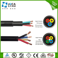 rubber/pvc submersible oil pump cable,supply power to submersible pumps