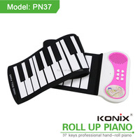 37keys roll up piano educational kids toys gifts for piano players Christmas Gift