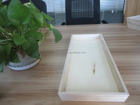 rectangle disposable wood catering tray/serving tray/Insulated food tray