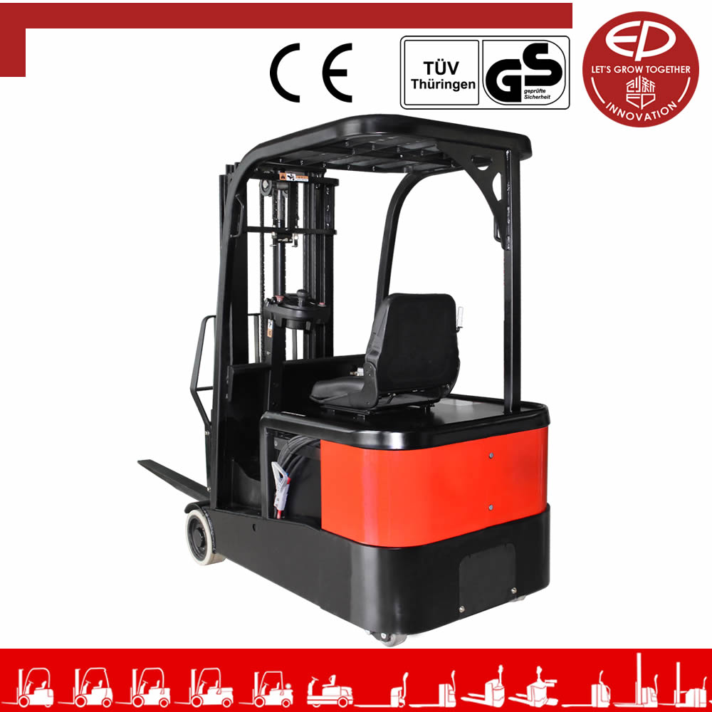 EP 1.0 ton Three-wheel Electric Forklift with CE