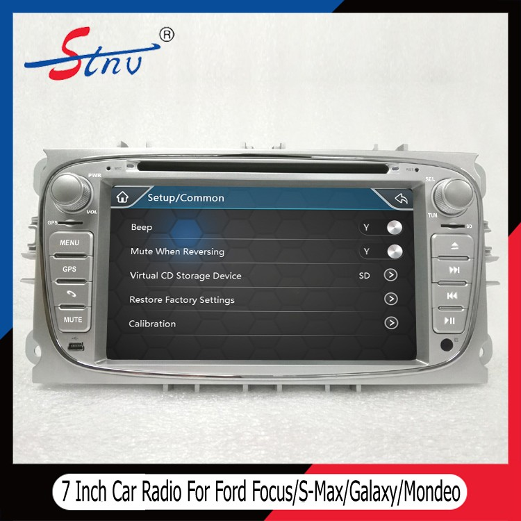 7 Inch Mondeo Navigation System For Ford With GPS/REVERSE CAMERA