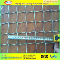 Galvanized|PVC coated cyclone wire chain link wire mesh, chain link fencing
