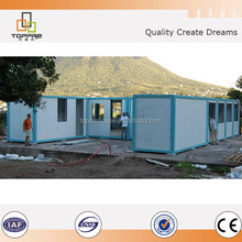 Easy assembling prefabricated container house