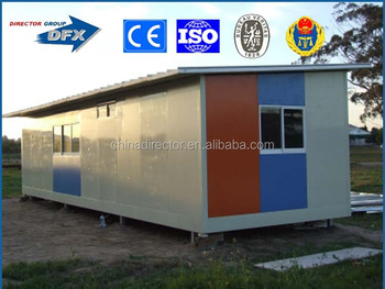 light weight prefabricated modular steel structure residential building