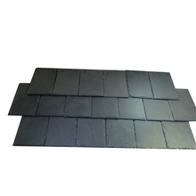 Cheap paving natural stone construction building material Black roof slate with good offer