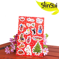 Wholesale home Decorative Cling Static Window Sticker Wall Sticker Art