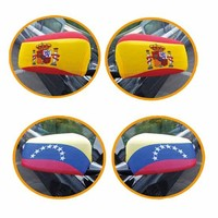 2016 Fashion Promotional Car Mirror Cover Flag