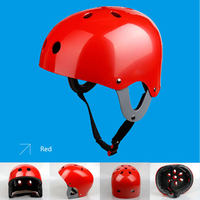 Half-covered Ultralight Water Sports using Professional Cycling Helmet