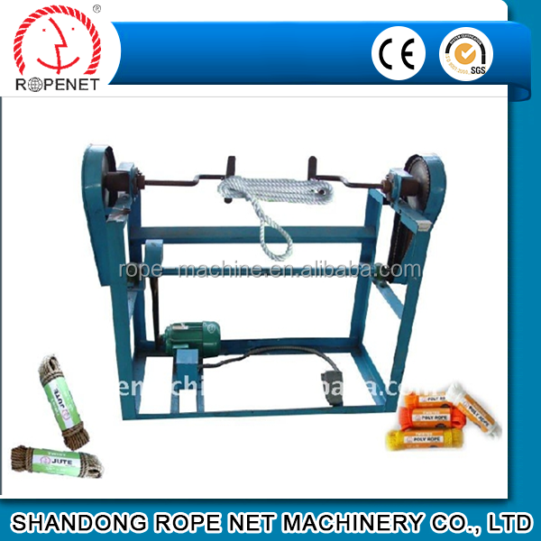 top quality semi-automatic hank making machine for rope