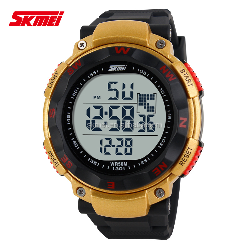 Japan movt wrist watches outdoors hiking climbing watches multicolor watches