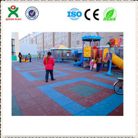 Outdoor Rubber Mat For Playground Eco