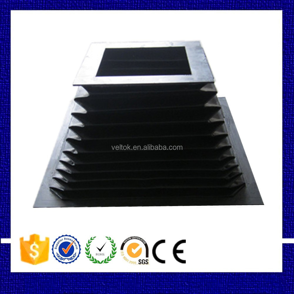 Flameproof fabric shaft bellow cover cylinder bellows
