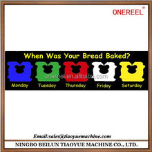 Wholesale Colourful PS Bread Twist Clips /Kwik Lock/Bag Tie