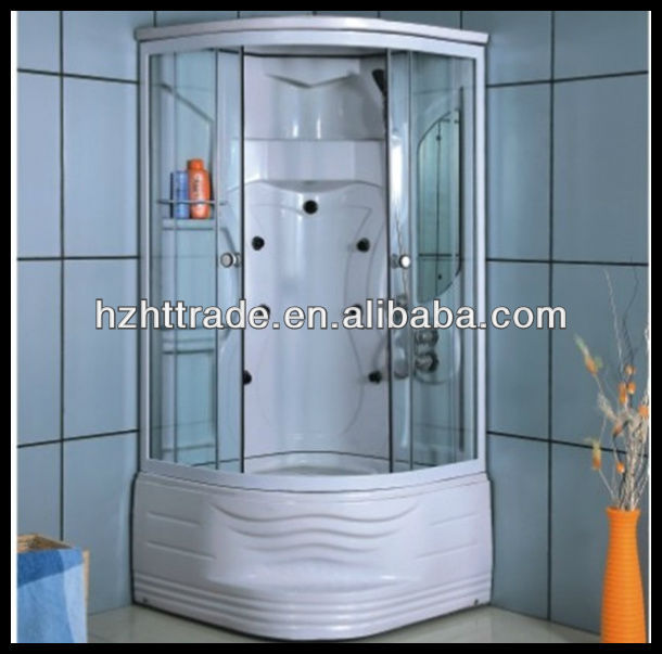 simple high tray steam standard size computer glass door shower room