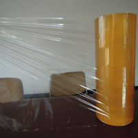 stretch film manufacturer/pvc food wrapping/plastic food wrap SGS