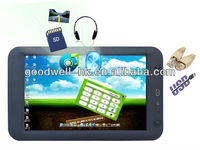 16:9 Touchscreen 7 Inch Tablet PC with WIN CE 6.0 OS ,RS232 Port