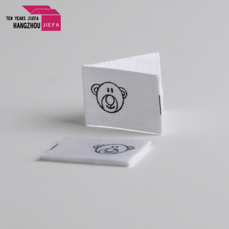 High quality price garment printing label for clothes