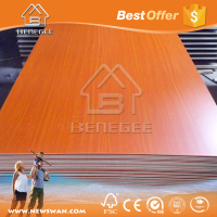 Melamine / UV / Veneer Laminated Board MDF