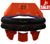 Throw-over Infatable Life raft with capacity 16 persons