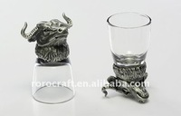 buffalo Head Shaped Shot Glass