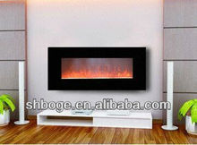 standard good quality home electric fireplace no heat with crushed glass