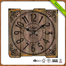 hot sell single unique memorable wooden wall clock