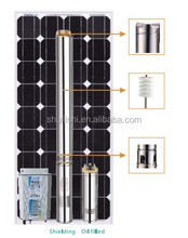 DC solar water pump with brushless motor