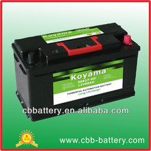 88Ah Japan car battery